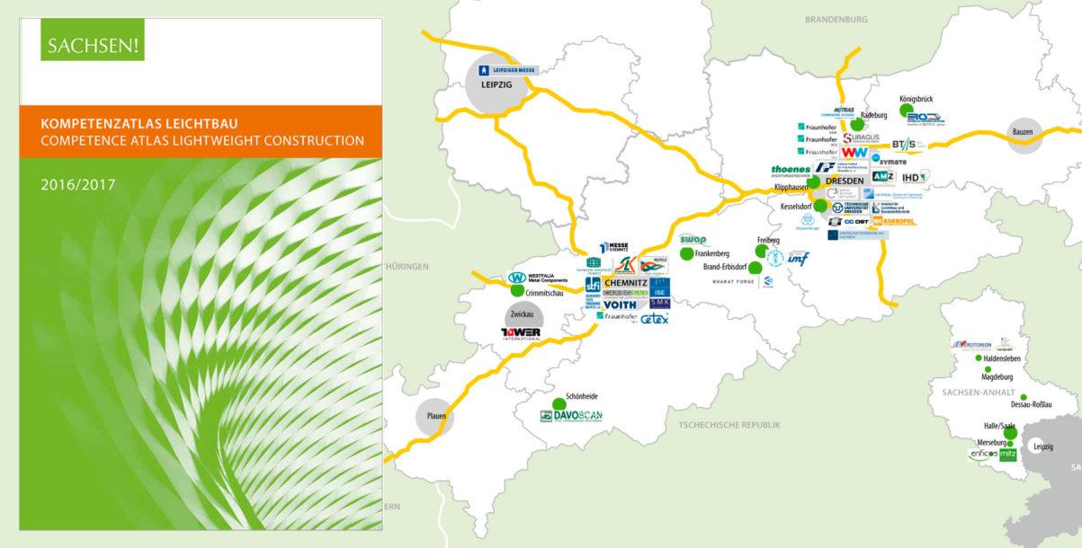 Kompetenzatlas Leichtbau 2016-2017