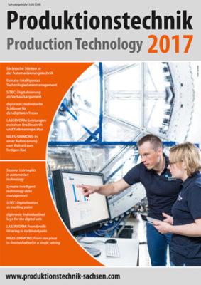 Titel Produktionstechnik Sachsen 2017