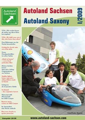Autoland Sachsen 1/2009 Cover