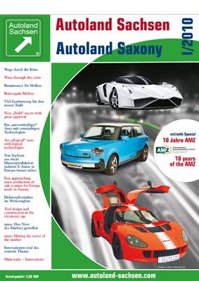 Autoland Sachsen 1/2010 Cover