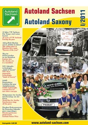 Autoland Sachsen 1/2011 Cover