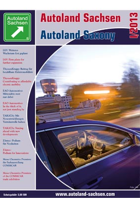 Autoland Sachsen 1/2013 Cover