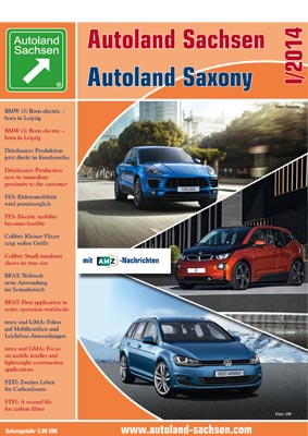Autoland Sachsen 1/2014 Cover