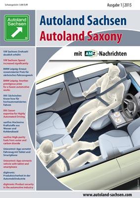 Autoland Sachsen 1/2015 Cover