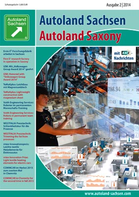 Autoland Sachsen 2/2014 Cover