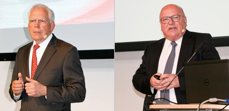 Prof. Dr. Ulrich Hackenberg und Prof. Dr. Siegfried Fiebig