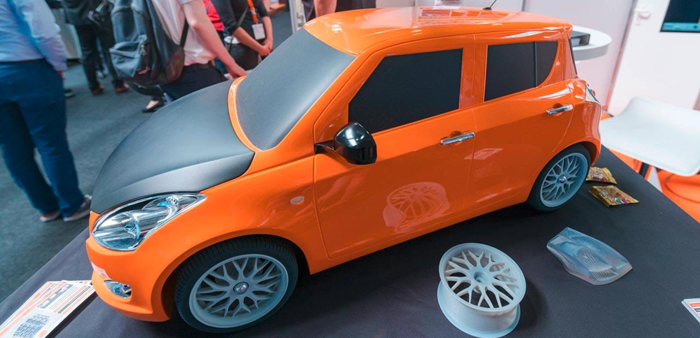Additive Ferigung in Fahrzeugindustrie