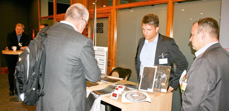 Zu den Ausstellern des Leichtbaukongresses gehörte die Embro GmbH Auerbach/V.
