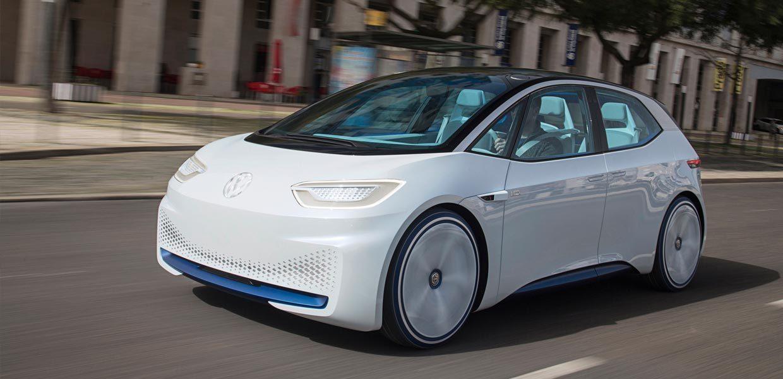 Der Volkswagen I.D. wird als erstes, völlig neu konzipiertes Elektrofahrzeug von VW in Zwickau gebaut
