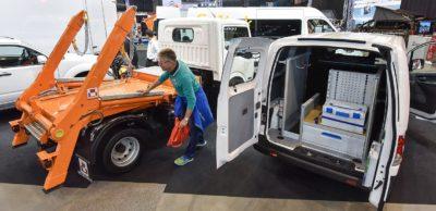 Transporter und leichte Nutzfahrzeuge bis 7,5 Tonnen stehen im Mittelpunkt der Transportertage Chemnitz 2017