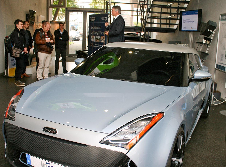 serienfähige Ultraleichtbau-Projektfahrzeug InEco