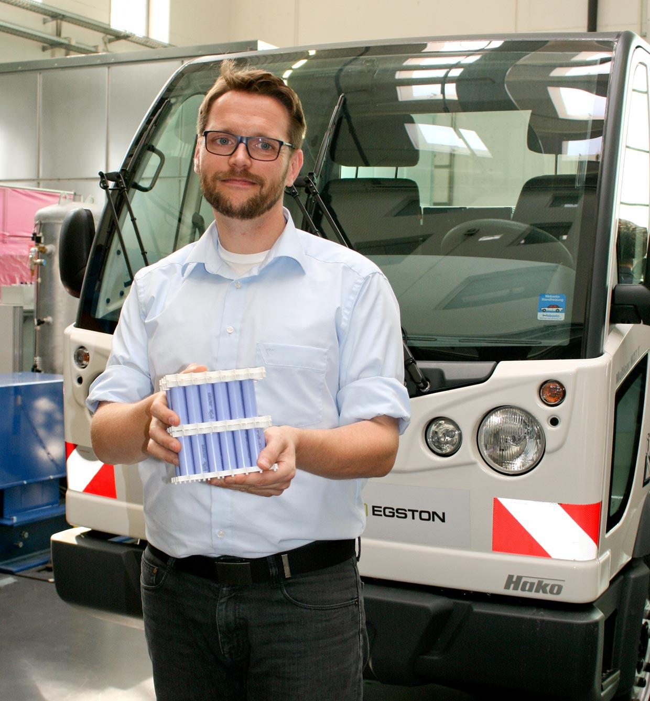 Mit dem Start-up SCABA nutzt das Team um Mitgründer und Gesellschafter Marco Zichner die Möglichkeiten des Leichtbaus für neuartige skalierbare Lithium-Ionen-Batteriesysteme.