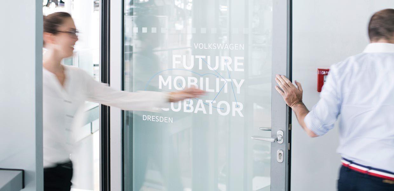 """Das Startup-Programm im """"Future Mobility Incubator"""" bei Volkswagen in Dresden ist in die zweite Runde gegangen."""
