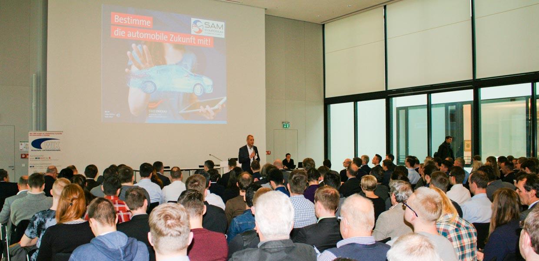 Rund 200 Teilnehmer waren der Einladung zur Mitbestimmung der automobilen Zukunft gefolgt