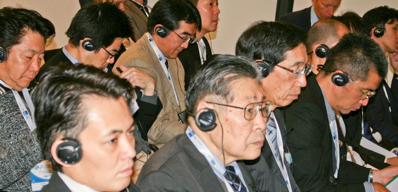 Zu den Gästen des Kongresses gehörte eine rund 20-köpfige Delegation mit Vertretern der japanischen Automobilindustrie, u. a. von Subaru
