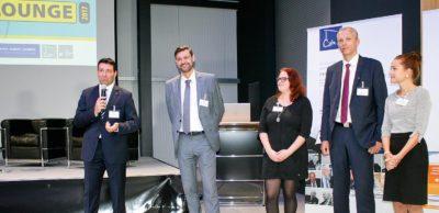 Das Team von AMZ stellte zur 4. Mitglieder-Jahreslounge im Oktober 2017 bei Damm Rumpf Hering in Zwickau die Aktivitäten für 2018 vor.