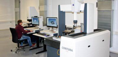 Mit dem Erweiterungsbau in Leupoldishain wurde in hochmoderne Messtechnik investiert.