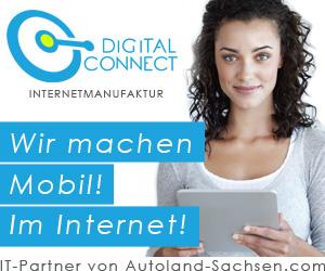Anzeige digital connect. Wir machen Mobil! Im Internet!