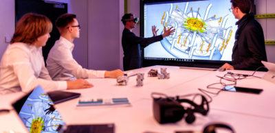 Im Inno-Space im Werk Leipzig entwickelt und testet Porsche weit nach vorn gerichtete Innovationen