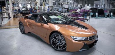 Der i8 Roadster ist das neueste Mitglied der i-Familie, die im BMW Werk Leipzig gefertigt wird.