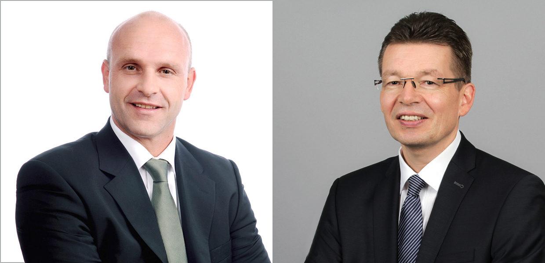 """VW Sachsen mit neuer Geschäftsführung. Der VW-Markenvorstand für """"E-Mobilität"""" Thomas Ulbrich übernimmt zusätzlich die Sprecherfunktion innerhalb der Geschäftsführung bei Volkswagen Sachsen. Reinhard de Vries wird neuer Geschäftsführer für Technik & Logistik in Zwickau."""