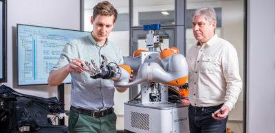 Intelligente Robotik ist ein Schwerpunktthema im Volkswagen Smart Production Lab.