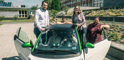Ökologischer Verkehr: Im Projekt ECoMobility untersuchen Nachwuchswissenschaftler der TU Chemnitz die praktische Umsetzung eines nachhaltigen Mobilitätskonzeptes für kurze und mittlere Wege.