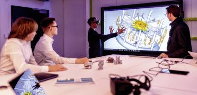 Im Inno-Space im Werk Leipzig entwickelt und testet Porsche weit nach vorn gerichtete Innovationen.