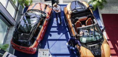 BMW stellte erstmals zur Rapid.Tech + FabCon 3.D aus.