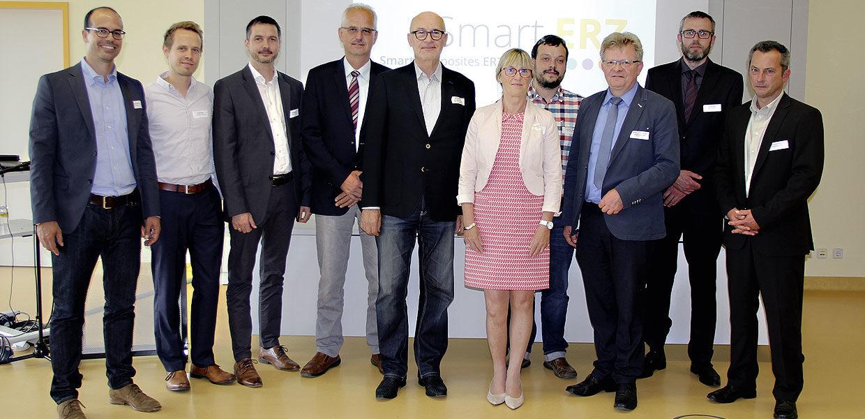 Das Projektteam von SmartERZ.