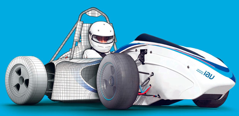 IAV unterstützt bereits zum zehnten Mal in Folge als Hauptsponsor den internationalen studentischen Konstruktionswettbewerb Formula Student Germany.