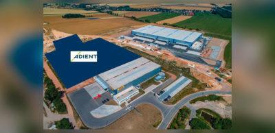 Blick auf das Industriegebiet Meerane-West mit der für Adient vorgesehenen Werk-Fläche.