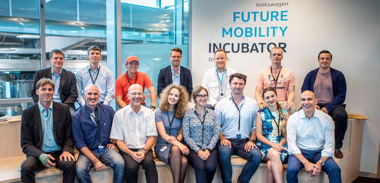 Sechs internationale Startups entwickeln innovative Mobilitätsideen in Dresden zur Marktreife.