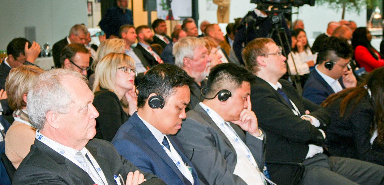 Mehr als 300 Teilnehmer aus Europa, Asien und Amerika kamen am 23./24. Oktober 2018 zum 22. Internationalen Jahreskongress der Automobilindustrie in Zwickau zusammen.