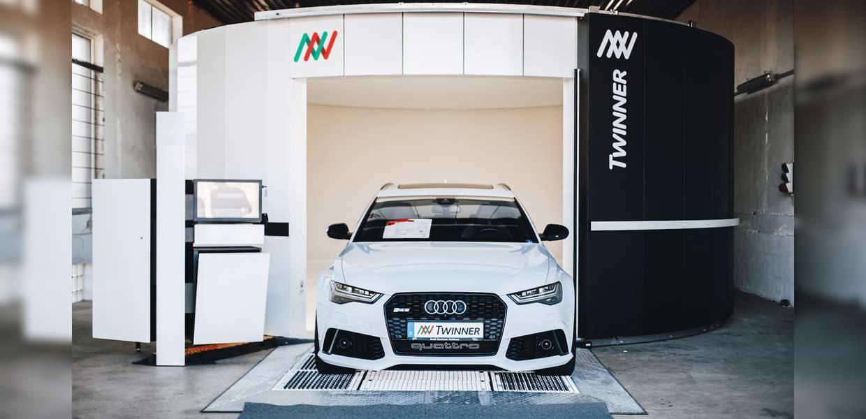Mit dem virtuellen Auto-Scanner Twinner will das gleichnamige Start-up den Gebrauchtwagenhandel revolutionieren.