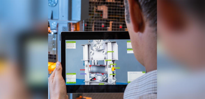"""Smart zu produzieren heißt ressourceneffizient zu produzieren: Wie sich die voranschreitende Digitalisierung nutzen lässt, um Ressourcen einzusparen und die Produktivität zu erhöhen, zeigt der Kongress """"Ressourceneffiziente Produktion"""" am 6. Februar 2019."""