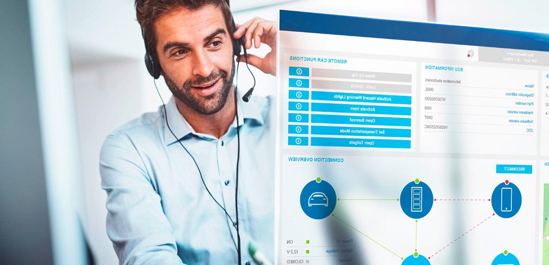Der Digital Service Assistant (DiSA) ist eine cloudbasierte Plattform, die die Fernwartung des Fahrzeugs und Datenübertragung aus dem Fahrzeug in ein Remote Service Center ermöglicht.