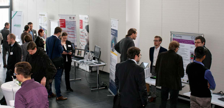 Gut genutzt wurden die Networking-Formate wie die begleitende Ausstellung.