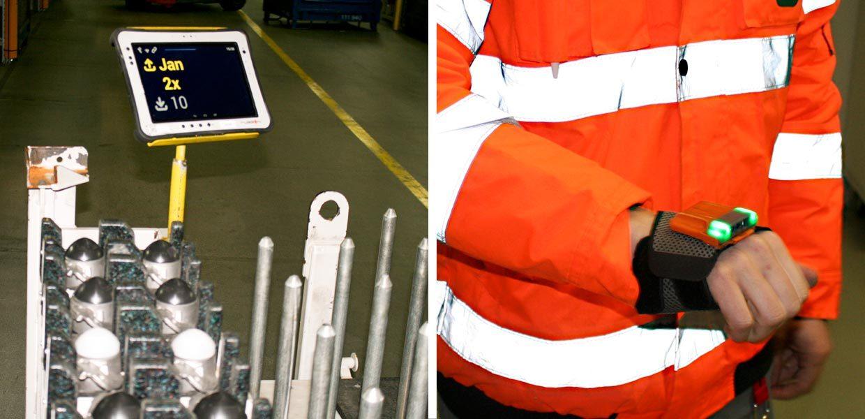Logistik 4.0 für KMU – Digitale Arbeitsmittel bewähren sich beim Logistikdienstleister Schnellecke in Glauchau