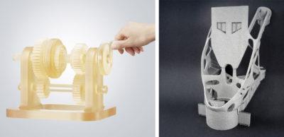 Leistungen für den Kunststoff- und den Metall-3D-Druck bietet enesty additiv an.