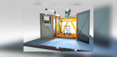 Highspeed-3D-Druck für große Teile: Mit SEAM lässt sich die additive Fertigung von Kunststoffbauteilen im Vergleich zu herkömmlichen Verfahren um das Achtfache beschleunigen. Diese ultra-schnelle Fertigungsgeschwindigkeit erreicht das Verfahren durch die Kombination von 3D-Druck mit dem Bewegungssystem einer Werkzeugmaschine.