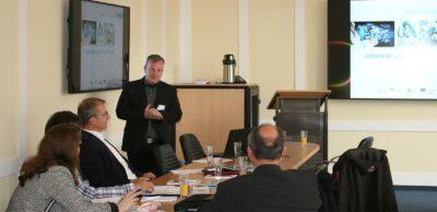 """""""Region im Wandel – Umschalten im Kopf?!"""" war eine Veranstaltung des Mittelstand 4.0-Kompetenzzentrums Chemnitz an der Berufsakademie Glauchau überschrieben. In Themeninseln wurden verschiedene Aus- und Weiterbildungsmodelle vor den Anforderungen des demografischen und digitalen Wandels diskutiert."""