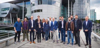 Die vierte Gründerklasse im VW-Inkubator Dresden.