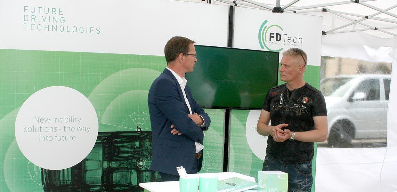 FDTech gehört zu den Gründern der Chemnitz Automated Driving Alliance. Das Unternehmen stellte sich und den Zusammenschluss auf dem 3. Symposium Automotive & Mobility SAM am 20. Juni 2019 in Zwickau vor.