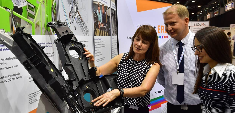 """Leichtbau mit Textilverstärkung ist weiterhin ein Thema der neu konzipierten mtex+, die am 9./10. Juni 2020 unter dem Titel """"Fair & Convention for Hightech Textiles"""" erstmals im neuen Carlowitz Congresscenter inmitten von Chemnitz stattfindet"""