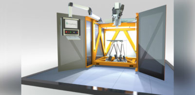 Ein neues High-Speed-3D-Druckverfahren hat das Fraunhofer IWU entwickelt.