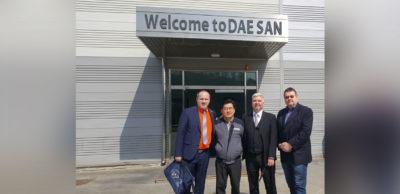 AHK Korea und IHK Chemnitz unterstützen Zulieferer bei der Sondierung des Marktes in Fernost. Die sächsische Delegation besuchte im Frühjahr 2019 auch koreanische Zulieferunternehmen wie den Presswerkzeughersteller DAESAN.