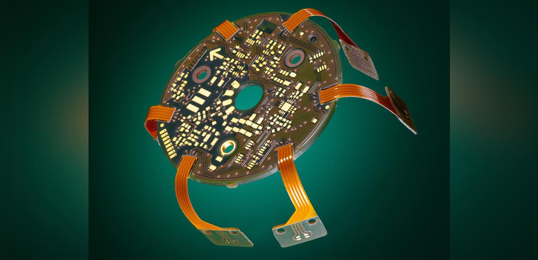 Biegbare Produktlösungen iegbare Produkt-lösungen bieten Semiflex- und Starrflex-Leiterplatten.