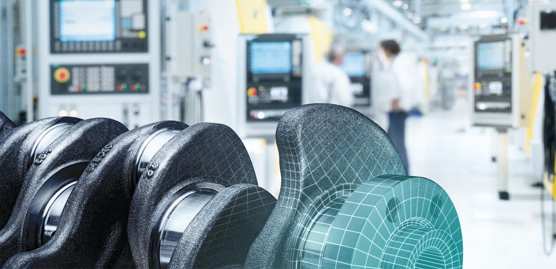 Mit digitalen Zukunftstechnologien unterstützt Siemens die Automobilbranche. Der Konzern bietet u.a. ein umfassendes Konzept für die Erstellung von digitalen Zwillingen an.