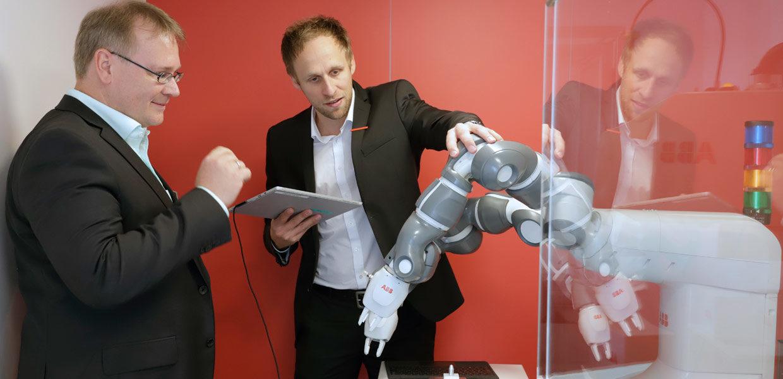 Themen wie Robotik und MRK zogen auf der all about automation 2019 in Schkeuditz vor den Toren Leipzigs besonders an.